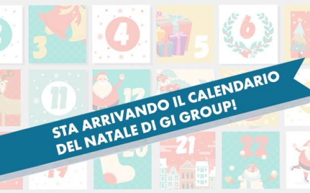 Sta arrivando il calendario del Natale di Gi Group!