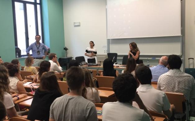 Il team Candidate alla Università degli Studi di Milano per il workshop Soft Skill Lab